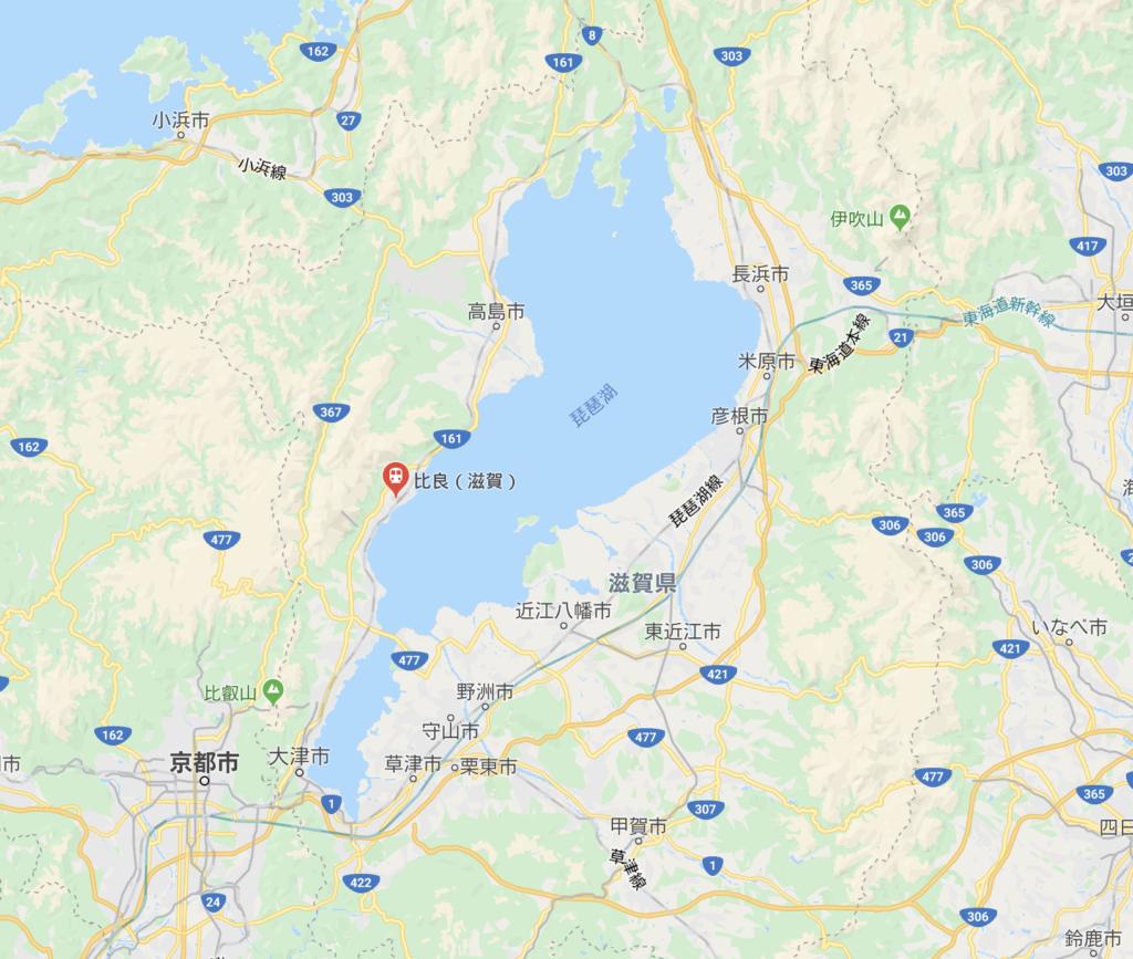 日本滋賀縣比良