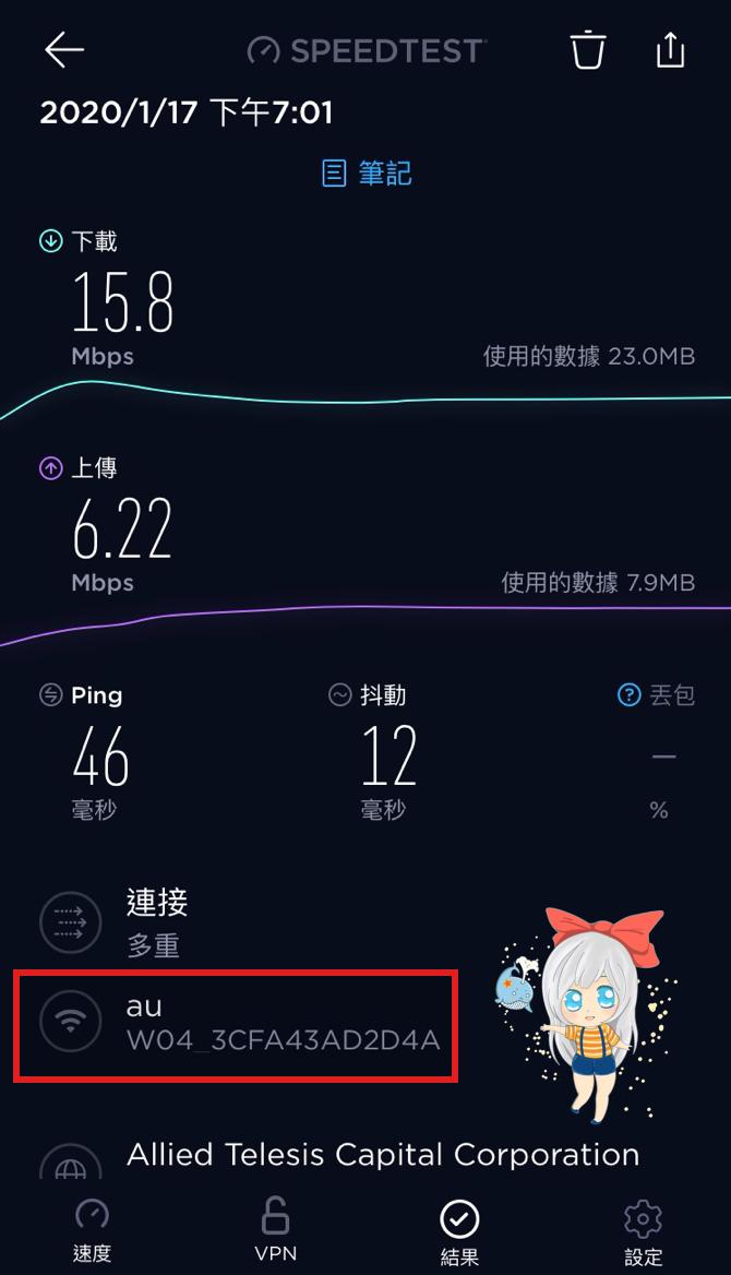 Wimax WiFi測試
